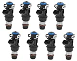 #7: Performance Upgrade - (4 Hole) Re-manufactured OEM Delphi 25317628 Fuel Injectors for 2001-2007 Chevy/Cadillac/GM 4.8 5.3 6.0L Set of 8