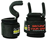 Best Weight Lifting Rod Hooks Heavy Duty Wrist Wraps...