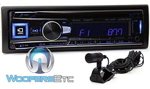 Alpine CDE-163BT Advanced Bluetooth CD Receiver