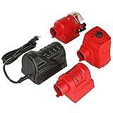 Professional Drill Bit Chisel Sharpener - 3 Interchangeable Heads, Knife Sharpener, Drill Bit