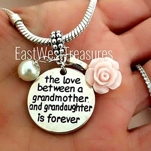 Amazon Com Grandmother Granddaughter Charm Bracelet