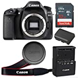 Canon EOS 80D 24.2 MP CMOS Digital SLR Camera with 3.0-Inch LCD (Body Only) - Wi-Fi Enabled (Certified Refurbished)