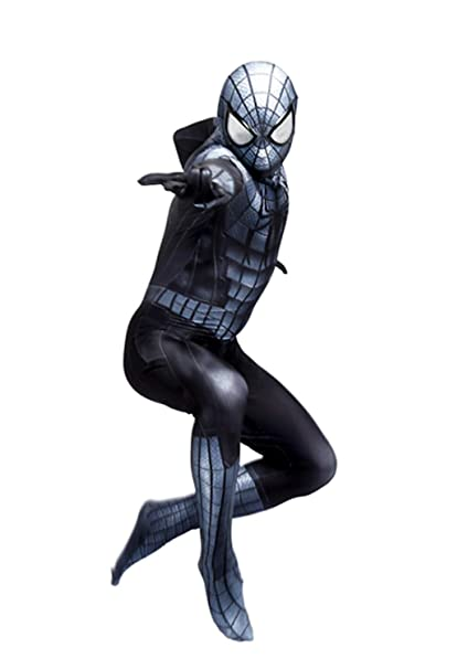 Amazon.com: Black Armour Super Spider-Man - Disfraz de ...