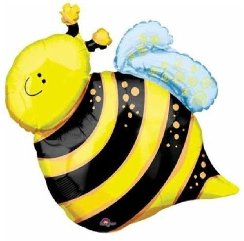 LoonBalloon BUMBLE BEE Bumblebee Garden Picnic BBQ Barbeque Fun 25