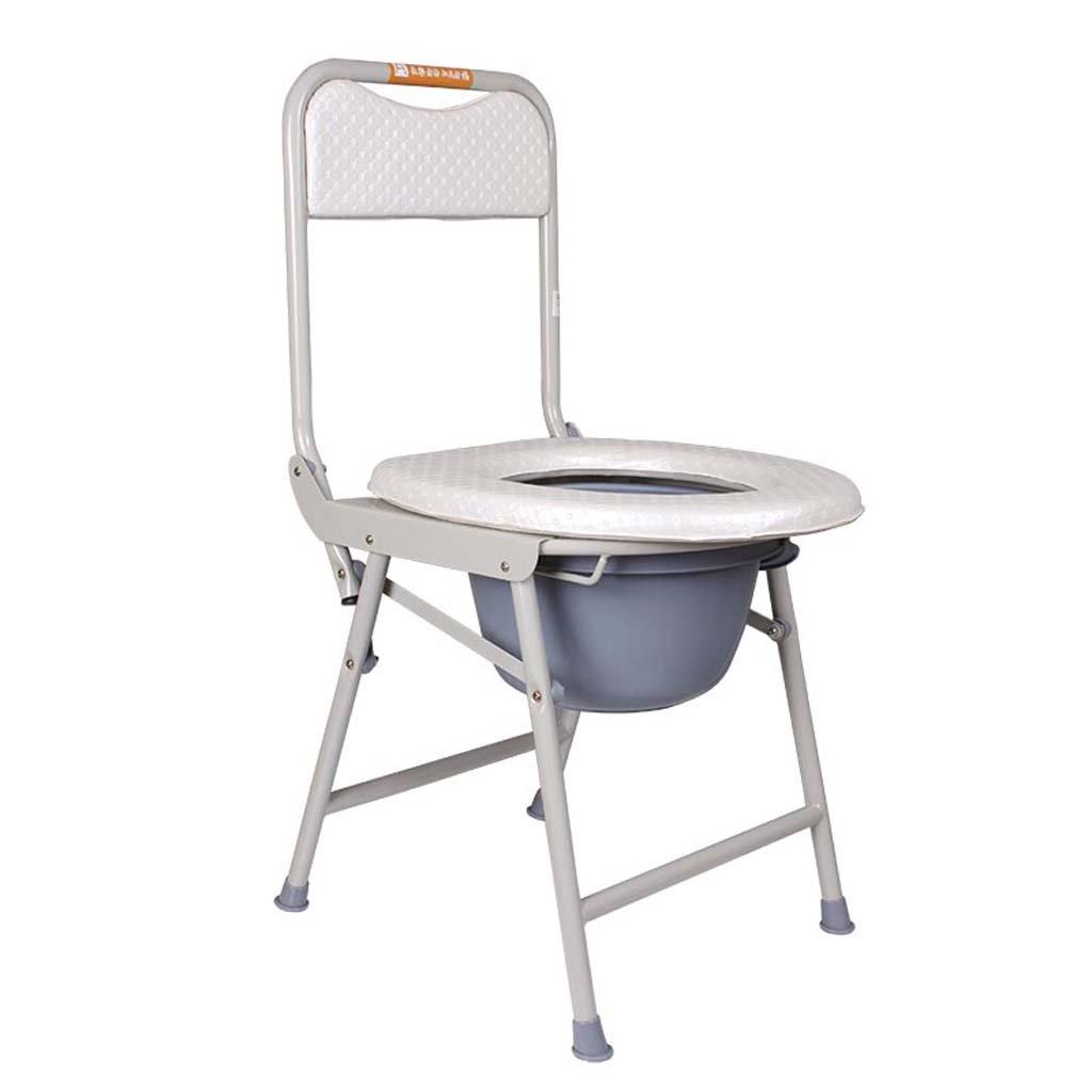 家庭の照明- トイレ34 * 36 * 78センチメートルを増やすためにコモド折り畳み高齢妊娠中の女性ステンレス鋼 B07DK7945Q