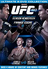 Coverage of the UFC 150 event held at the Pepsi Centre in Denver, Colorado in 2012. Top of the bill was the lightweight encounter between Benson Henderson and Frankie Edgar. Elsewhere, Donald Cerrone took on Melvin Guillard and Yushin Okami f...