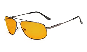 ad3f3d2d70b Eyekepper Memory Frame Blue Blocking Glasses for Sleep-Nighttime Eyewear-Special  Orange Tinted Glasses