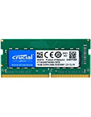 Crucial 16 DDR4RAM For Laptops - CT16G4SFS8266