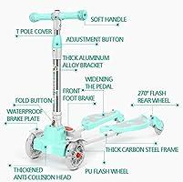 Amazon.com: CHHMAELOVE patinete para niños de 3 ruedas, con ...