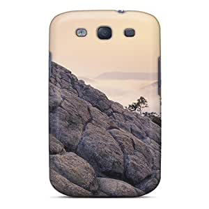 For Galaxy S3 Fashion Design Foggy Sunrise Over The Mountains Case-jYkYQCf1773ecdYj
