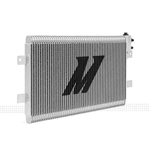 Dodge Ram 2500//3500 5.9L//6.7L Mishimoto MMTC-RAM-03SL Silver Cummins Transmission Cooler
