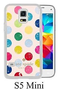 customized Samsung Galaxy S5 Mini Case Cover, Fashion Stylish DIY Kate Spade 17 White Case Cover For Samsung Galaxy S5 Mini
