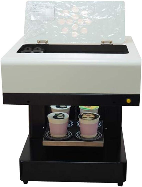 Syoon - Impresora de café con 4 tazas para tartas de latte y ...