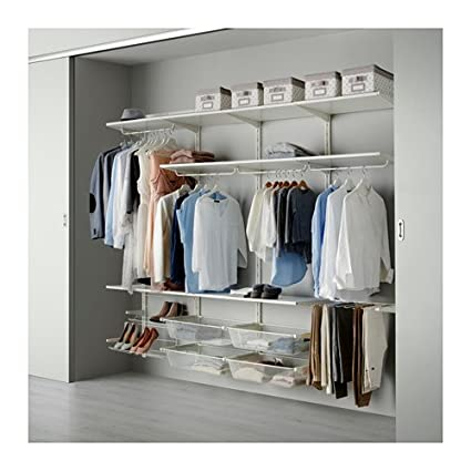 Incroyable Ikea Wall Upright/rod/shoe Organizer, White 16204.20178.2214