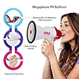 Pyle Megaphone Speaker PA Bullhorn - with