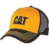 Cat Yellow Twill Blue Mesh Cap