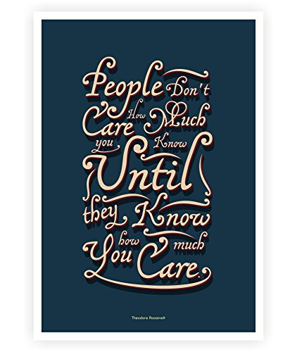 Amazon Lab No 60 People Don't Care Theodore Roosevelt Life New Posters With Quotes On Life