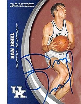 Dan Issel autographed basketball card (Kentucky Wildcats NCAA) 2016 Panini Collection #37