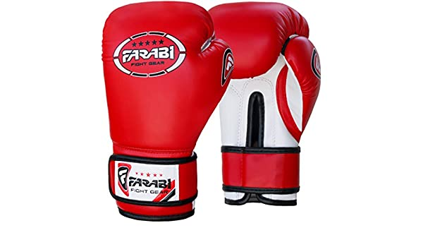 Junior kids 6-oz Boxing Gloves Sparring , training bag mitt ...