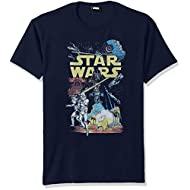 Star Wars Men's Rebel Classic Graphic T-Shirt