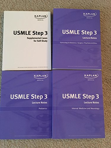 Authentic USA Print Kaplan USMLE Step 3 Lecture Notes 2011-2012 LATEST