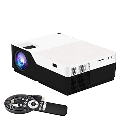 Amazon.com: Proyector nativo 1080P, Salange Portable 5000 ...