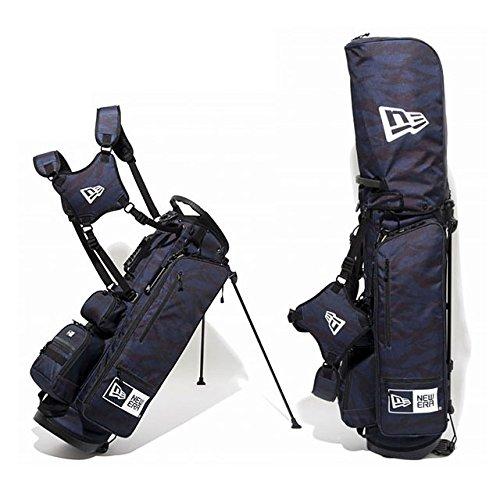 ニューエラ ゴルフ スタンド キャディバッグ タイガーストライプカモ 迷彩 黒 鞄 NEWERA GOLF STAND CADDIE BAG TIGER STRIPE CAMO 11404363の商品画像