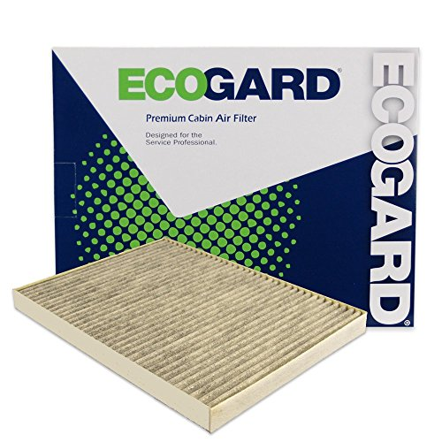 ECOGARD XC26205C Cabin Air Filter with Activated Carbon Odor Eliminator - Premium Replacement Fits Chevrolet Traverse / GMC Acadia / Buick Enclave / Saturn Outlook (Gmc Carbon)
