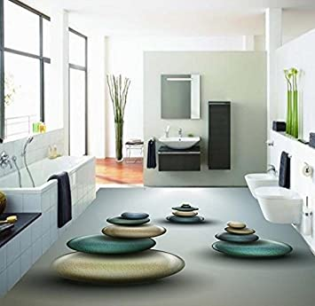 LWCX Home Dekoration 3D exquisite cobblestone Bodenbeläge ...