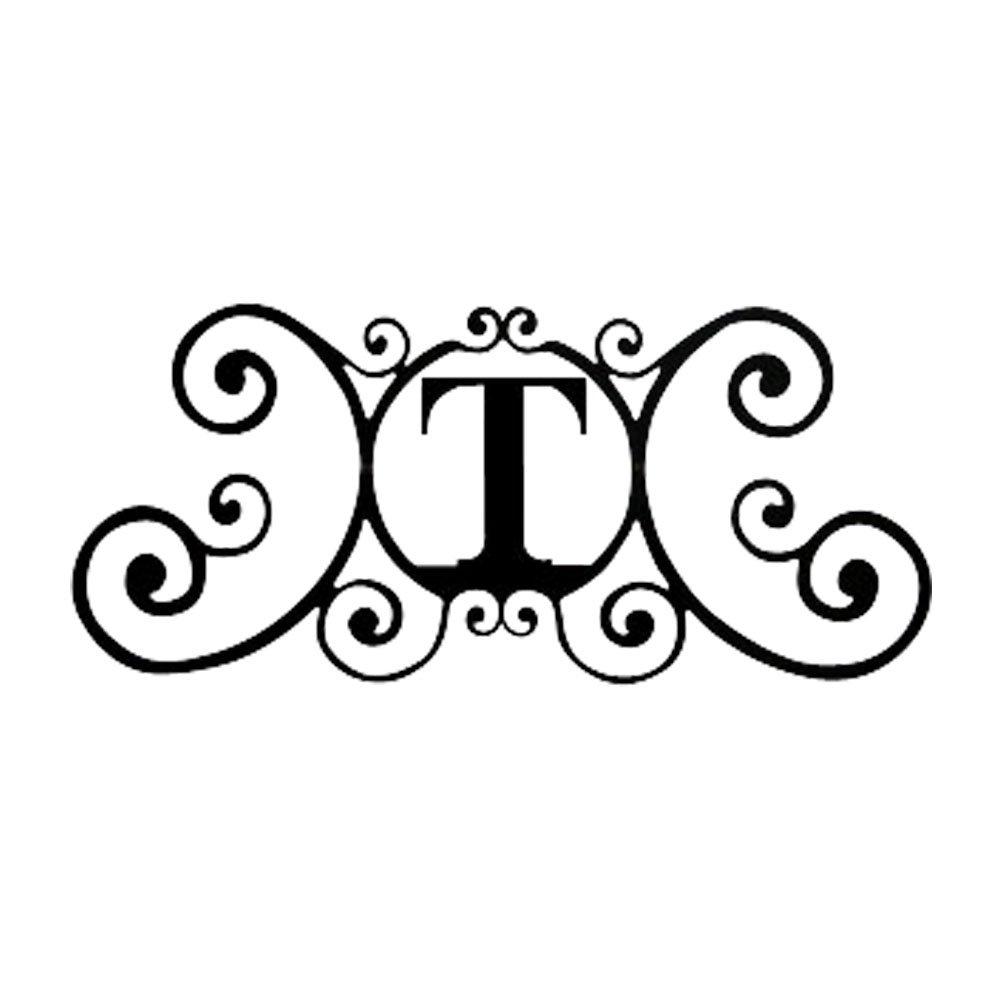 24インチ家Plaque Letter T B0042IRZ18