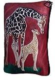 makeup artist ga - Giraffe Cosmetic Bag, Zip-top Closer - Taken From My Original Paintings (Giraffe - Full Circle)