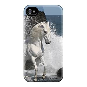 Top Quality Case Cover For Iphone 4/4s Case With Nice Enjoying Sea Waves Appearance