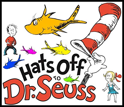 Dr. Seuss and Friends - For Dark-Colored Materials - Iron On Heat Transfer 7