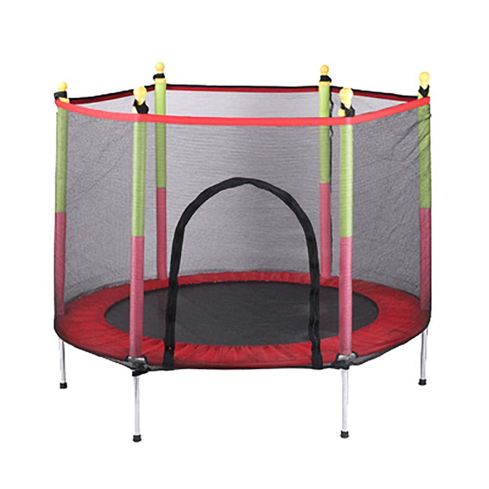55 Zoll-Trampoline mit Einschließungs-Netto-Sicherheitsauflage Umping Bett-Sport-Ausrüstung der Kinder Max. Belastung 330lbs Springendes Bett