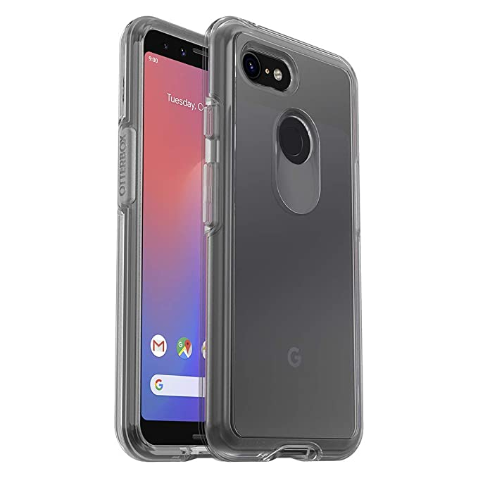 official photos 372c7 38a53 OtterBox Symmetry Clear Series Case for Google Pixel 3 - Retail Packaging -  Clear