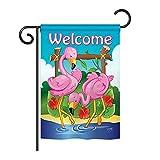 Breeze Decor - Flamingos Garden Friends - Everyday Impressions Decorative Vertical Garden Flag 13