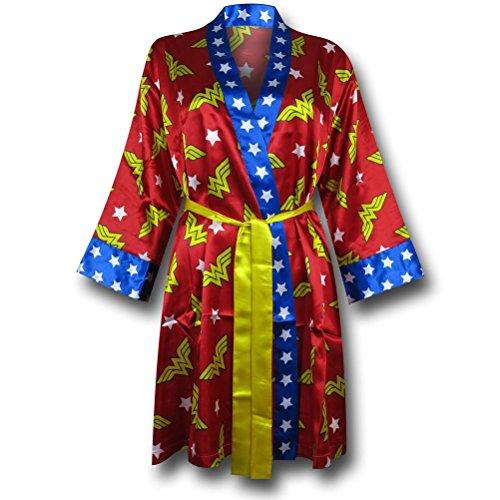 - Wonder Woman Women's Silk Printed Robe