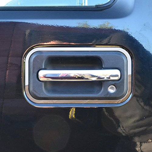 Ferreus Industries Polished Stainless Door Handle Trim fits: 2003-2009 Hummer H2 OTH-100-03