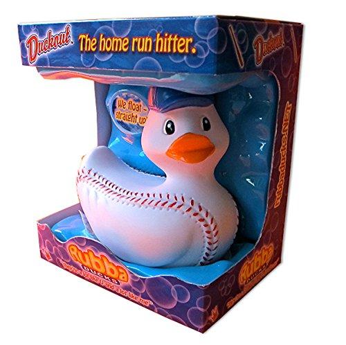 Rubbaducks Duckout Bath Toy Bats Baseball Hobby Box