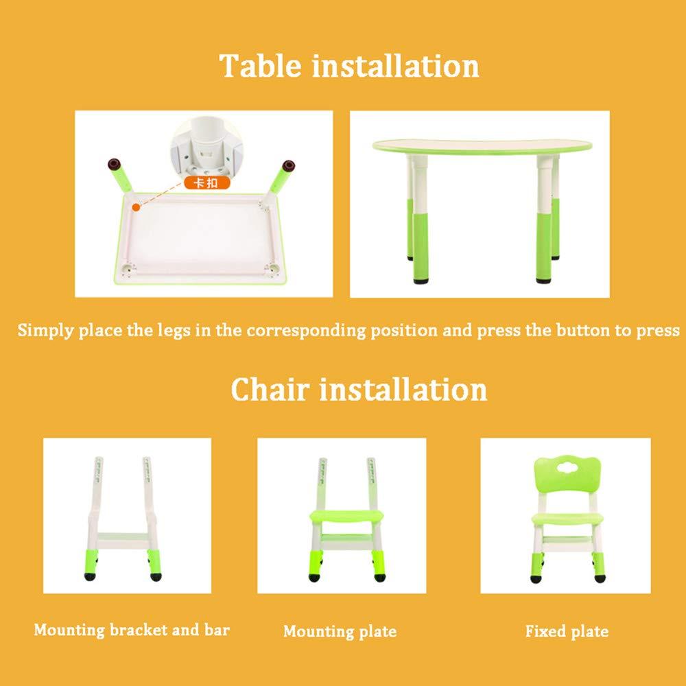 Mesas y sillas de Juegos Infantiles, Piezas Redondas de la ...