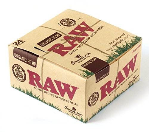 RAW CONNOISSEUR size King SIze Unrefined ORGANIC
