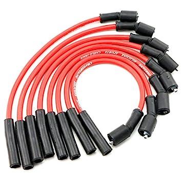 qkparts 532R 8,5 mm rendimiento Bujía Cables Chevy 4.8l 5.3L 6.0L LS1 Vortec V8: Amazon.es: Coche y moto