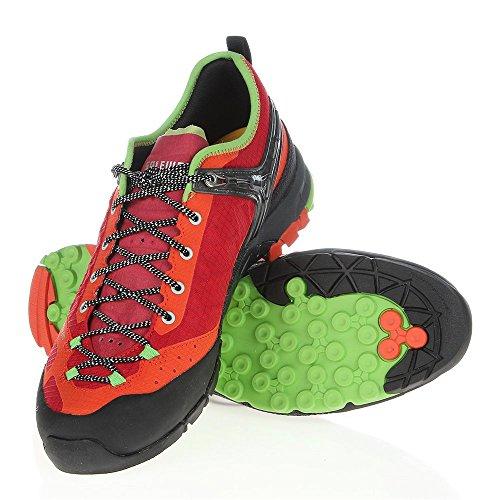 Salewa Firetail EVO Hiking Shoe - Men's Red/Emerald - Exclusive, 10.5