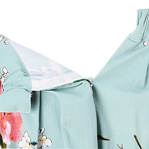 Taydey-A-Line-Pleated-Vintage-Skirts-for-Women