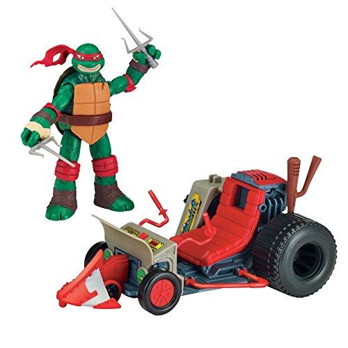 Teenage Mutant Ninja Turtles Raphael with Patrol Buggy Vehicle with Action Figure