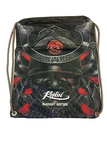 Gi Bag - Ronin Uniform Bag for Karate, Judo, BJJ, TKD & Martial Arts Uniforms - Blackout Samurai Ghost Gi Bag