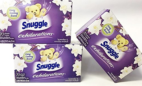 snuggle-exhilarations-70-dryer-sheets-lavender-vanilla-orchid-pack-of-3