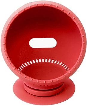 Estuche De Silicona para Amazon Echo Spot, Soporte Giratorio A Prueba De Polvo Base De Sonido Base De Soporte Soporte para Echo Spot Soporte De Ventosa Impermeable: Amazon.es: Electrónica