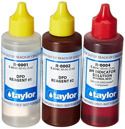 taylor Replacement Reagent Refill Kits - Basic Refill Kit - 2 oz.