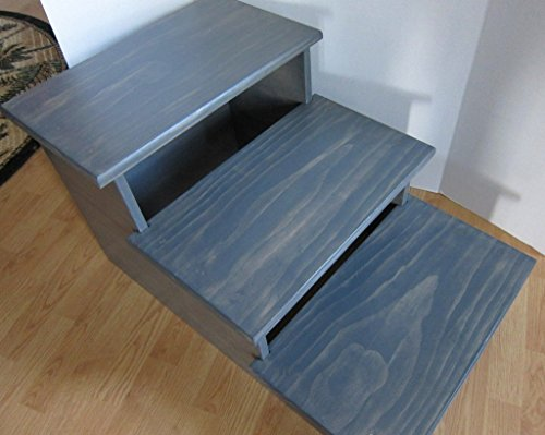 Large Pet Stairs - 24'' Tall, 3 Step by Clever Cat & Crafty Dog